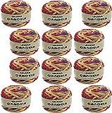 Hilo de chenilla para Tejer Punto Crochet o Ganchillo CANDELA de TORRIJO 90g, 1...