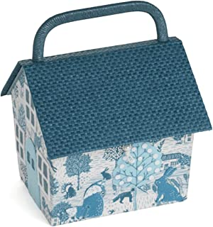 Hobby Gift Sewing Box: Birdhouse: Grove Scenic
