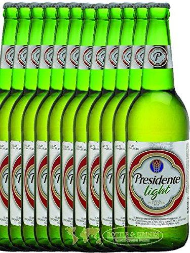 Presidente Bier Light Cerveza 12 x 0,355 Liter