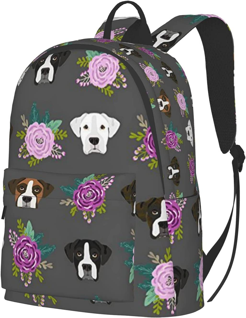 PNdeid Boxer Dogs Backpack Patterns Lightweight Fort Worth Mall Now free shipping Printed C Casual
