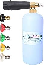 DUSICHIN DUS-112 Pressure Washer Jet Wash Quick Release Snow Foam Lance, Foam Cannon,1L Bottle,5 Pressure Washer Nozzles f...