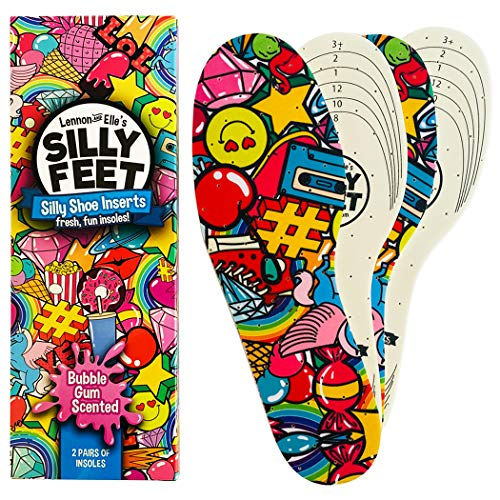 Silly Feet Kids Insoles | Child Replacement Insole Shoe...