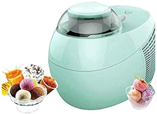 WGNHM Small Automatic Yogurt Machine Refrigerated Children's Homemade Ice Cream Machine Ice Cream Machine (Color : Green)