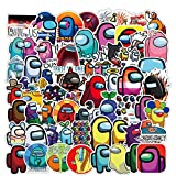 100PCS Among US Stickers Vinyl Waterproof Stickers for Kids Teens Adults Water Bottle Skateboard Luggage Laptop Decal Sticker
