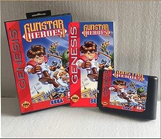 Value-Smart-Toys - GUNSTAR HEROES manul Version 16bit MD Game Card For Sega Genesis