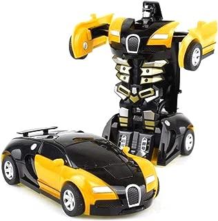 Bugatti Veyron Transformers Robot Ricaricabile Telecomando Auto Giocattolo Ragazzi Ragazze