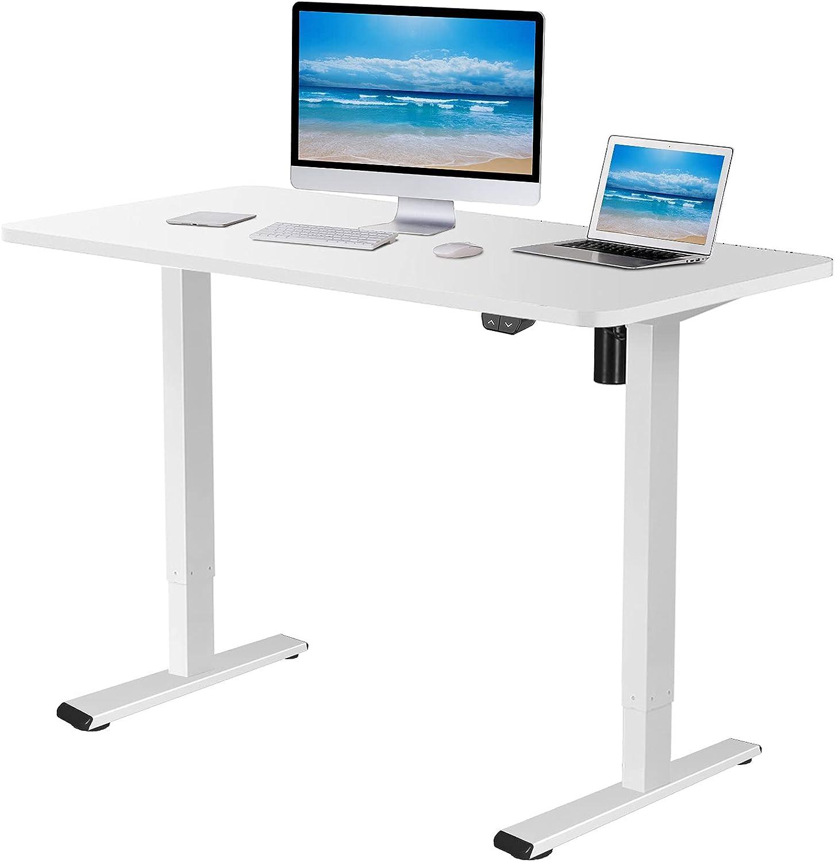 Flexispot EC1 Max 74% OFF safety Electric White Standing Adjustable Height Des Desk