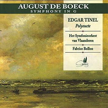 De Boeck: Symphony in G - Tinel: Polyeucte
