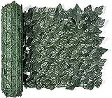 Artificial Pantalla Valla de privacidad Panel de pared de cobertura de hojas artificiales, decoración embellecedora para jardín al aire libre, valla de privacidad de jardín, valla de privacidad d