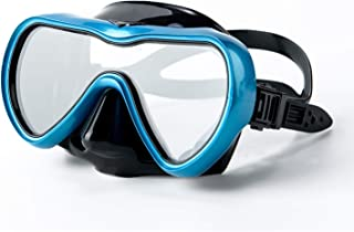 Rongbenyuan Diving Mask Swimming Goggles with Nose Cover Scuba Snorkeling Mask Anti-Fog No-Leak