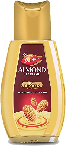 Dabur Almond Hair Oil with Almonds Vitamin E and Soya Protein 500 ml