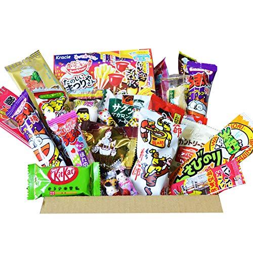 AKIBA KING Popin Cookin japanische DIY Dagashi Snack & Kit Kat Schokolade Box 30 Stück Set Geschenk Aufkleber