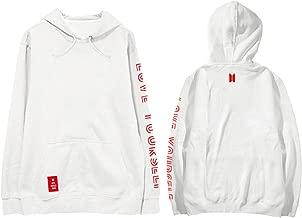 babyhealthy Kpop BTS Love Yourself Answer Hoodie Jimin Suga Jung Kook V World Tour Pullover Sweatshirt