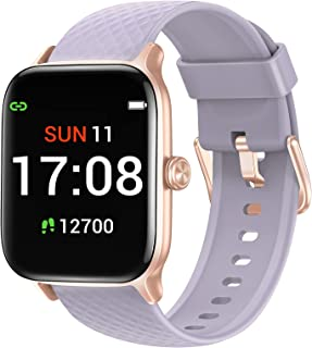 Letsfit EW1 Smart Watch Compatible with iPhone and Android Phones, Fitness Tracker with Heart Rate Monitor, Sleep Monitor...
