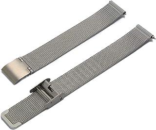 CASSIS[カシス] ステンレススチール 時計ベルト ANGERS アンジェ 14 mm シルバー 交換用工具付き U1027304012014