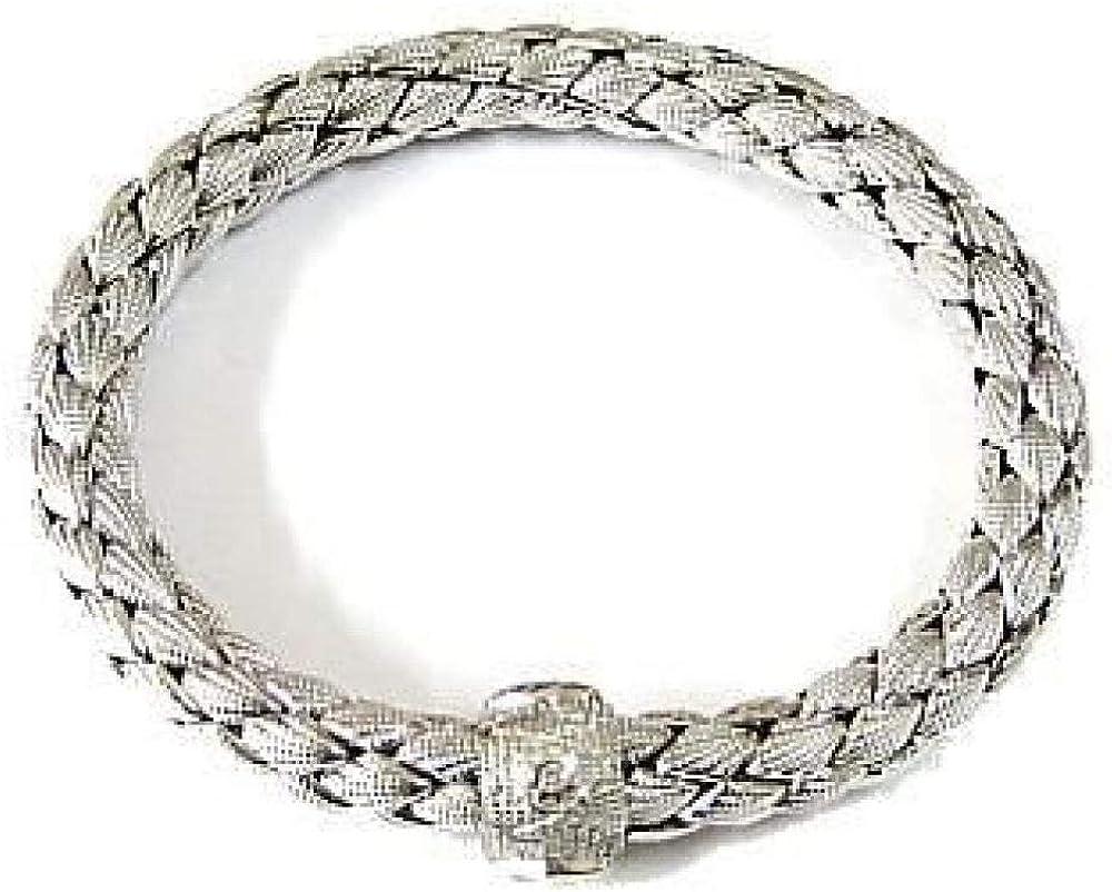 Chimento,bracciale per donna ,in  oro bianco kt(34,5 gr) e diamanti 0.03 ct 1B00809ZB521