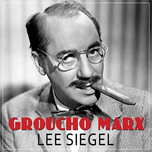 Groucho Marx audiobook cover art