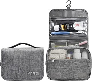 Goodern Hanging Travel Toiletry Bag Organizer Cosmetic Bag, Portable Makeup Bag for Women & Men with Strong Hook & Pockets...