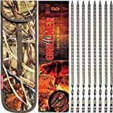 """The Most Beautiful BBQ Skewers in The World, Made in The Europe, 17"""" Skewers Stainless Steel 8 Piece, Flat, Wide, Long Shish Kabob Skewers For Grilling, Ideal Metal Kebab Sticks, Handmade Gift For Men"""