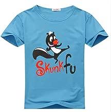 YangshanLin Youth Tee Shirts Funny Skunk Fu Logo Cartoon - Pattern 1
