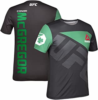 Conor McGregor UFC Fight Kit Official (Black/Green) Walkout Jersey Men's