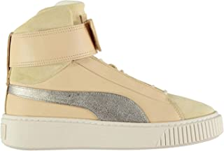 Official Puma Platform Prem High Top Trainers Womens Athleisure Sneakers Shoes Footwear