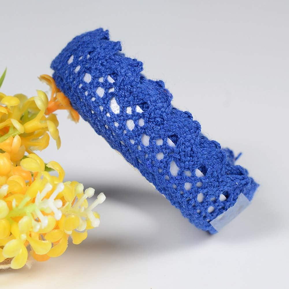 azul GerFogoo Washi Cinta adhesiva de encaje para manualidades