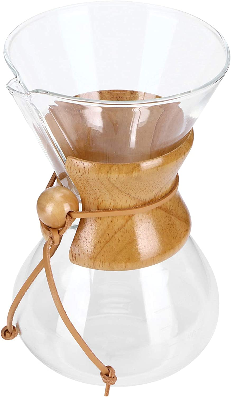 Coffee Maker El Paso Mall High-Temperature Resistant Drip Brewin Super sale period limited Glass