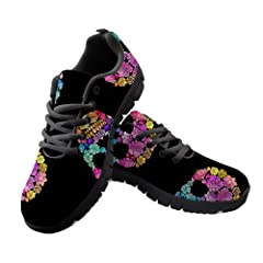 3378702f4e18 Tennis shoes skull - Casual Women's Shoes