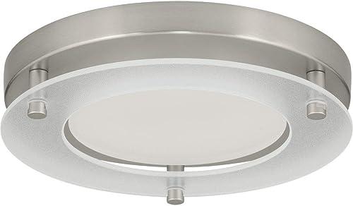 2021 Progress Lighting P8147-09-30K LED popular Flush Mount, 2021 Brushed Nickel outlet online sale
