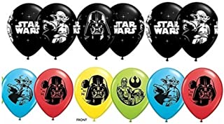 Star Wars Latex Balloons Package of 12