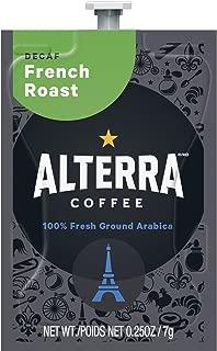 FLAVIA ALTERRA COFFEE, French Roast Decaf, 20-Count Freshpacks (Pack of 1 Rail)
