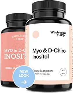 Myo-Inositol and D-Chiro Inositol (DCI) Blend | Hormonal Balance and Healthy Ovarian Function Support for Women| 40:1 Rati...