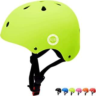 XJD Kids Bike Helmet Toddler Helmet Adjustable Kids Helmet CPSC Certified Ages 3-8 Years Old Boys Girls Multi-Sport Safety Cycling Skating Scooter Helmet