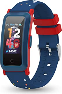 YoYoFit Kids Fitness Tracker with Heart Rate, Activity Tracker with Blood Pressure and Blood Oxygen, Health Watch with Ste...