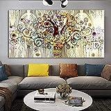 BOIPEEI Rompecabezas Rompecabezas del árbol de la Vida 1000 Piezas Gustav Klimt Rompecabezas de Paisaje Rompecabezas de descompresión de Madera clásico Juego de Rompecabezas Divertido