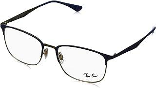 Ray-Ban RX6421 3002 Azul Ouro Lente Tam 54