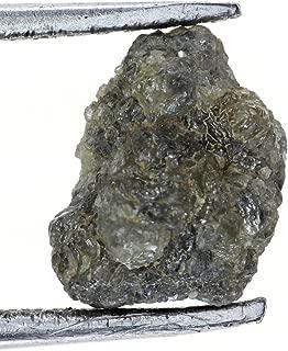 Kakadiya Group Natural Loose Diamond 1.63 Ct Very Sparkling Grayish Raw Diamond