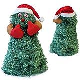 [lux.pro] Árbol de Navidad que canta y baila en movimiento - 27 cm