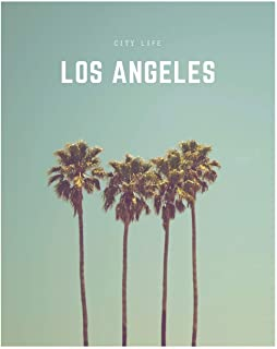 Los Angeles: A Decorative Book │ Perfect for Stacking on Coffee Tables & Bookshelves │ Customized Interior Design & Home D...