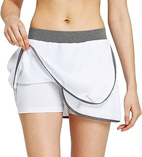 Baleaf Women's Golf Skirts Tennis Athletic Skorts Lightweight UPF 50+ Side Pockets