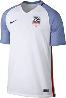 Nike Men's U.S. Stadium Top White/Game Royal/Midnight Navy Size Medium
