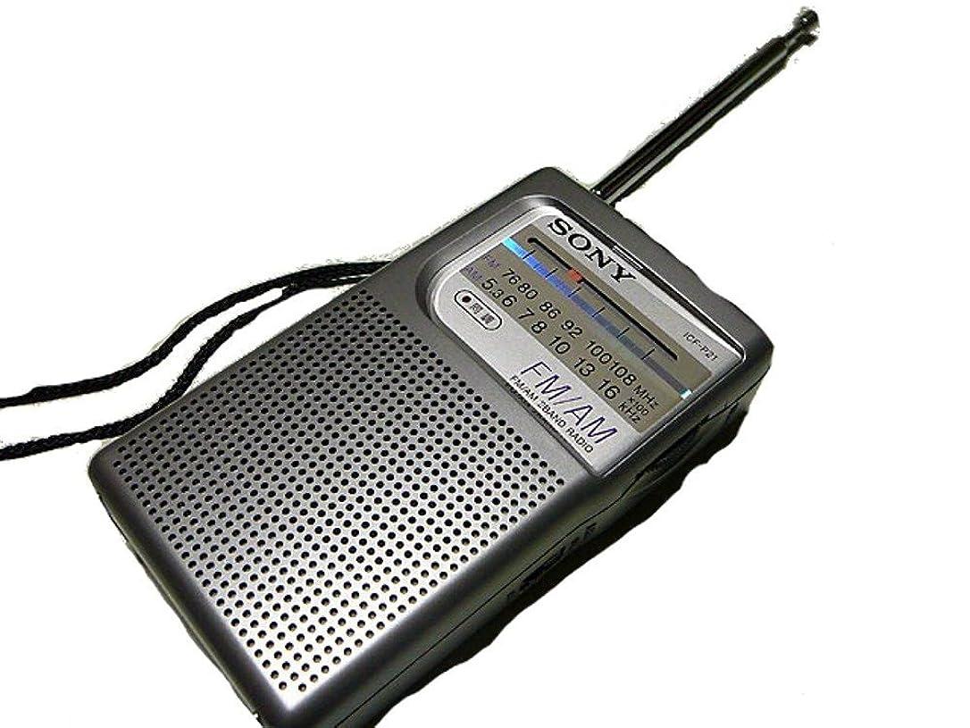 バルクラダ磁器SONY FM/AMハンディーポータブルラジオ ICF-P21