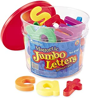 Learning Resources LER0451 Jumbo Lowercase Magnetic Letters Set