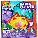 Crayola Paper Flower Science Kit, Color Changing Flowers, Gift for Kids Ages 7, 8, 9, 10
