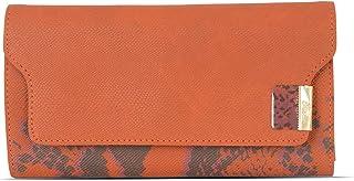 Baggit 3 Fold Wallet (Orange)