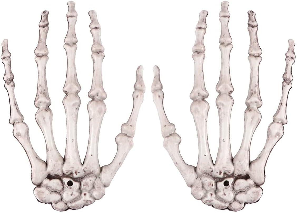 Halloween Skeleton Hand Realistic Fake Ghost Dec Bone Tucson Mall Model Max 67% OFF