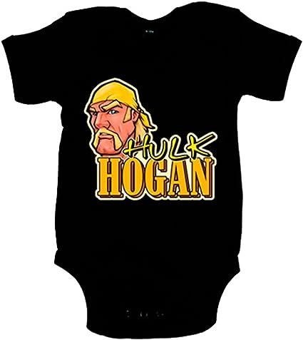 Body Neonato Hulk Hogan Bebé 6-12 mesi nero : Amazon.it: Moda