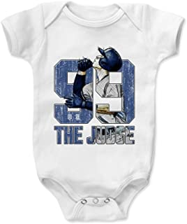 500 LEVEL Aaron Judge Baby Clothes & Onesie (3-6, 6-12, 12-18, 18-24 Months) - New York Baseball Baby Clothes - Aaron Judge Sketch