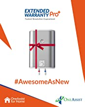 OneAssist 1 Year Extended Warranty Pro Plus Plan for Water Heaters Between Rs. 5,000 to Rs. 10,000